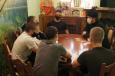 Помощник начальника ГУФСИН России по Красноярскому краю по организации работы с верующими встретился с несовершеннолетними в следственном изоляторе №1