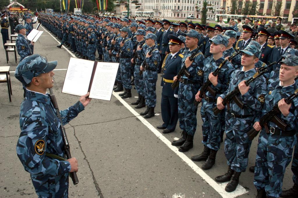 В белгороде прошли учения спецназа уфсин